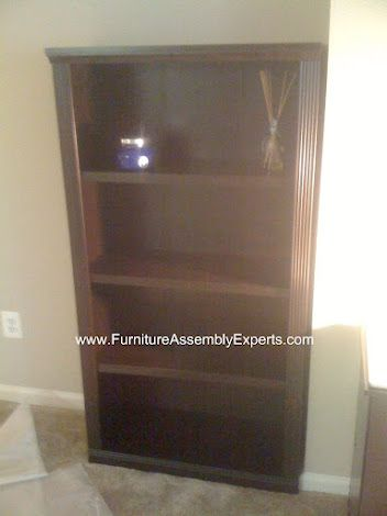 ikea Hemnes bookcase assembled at Avalon at Gallery Place ...