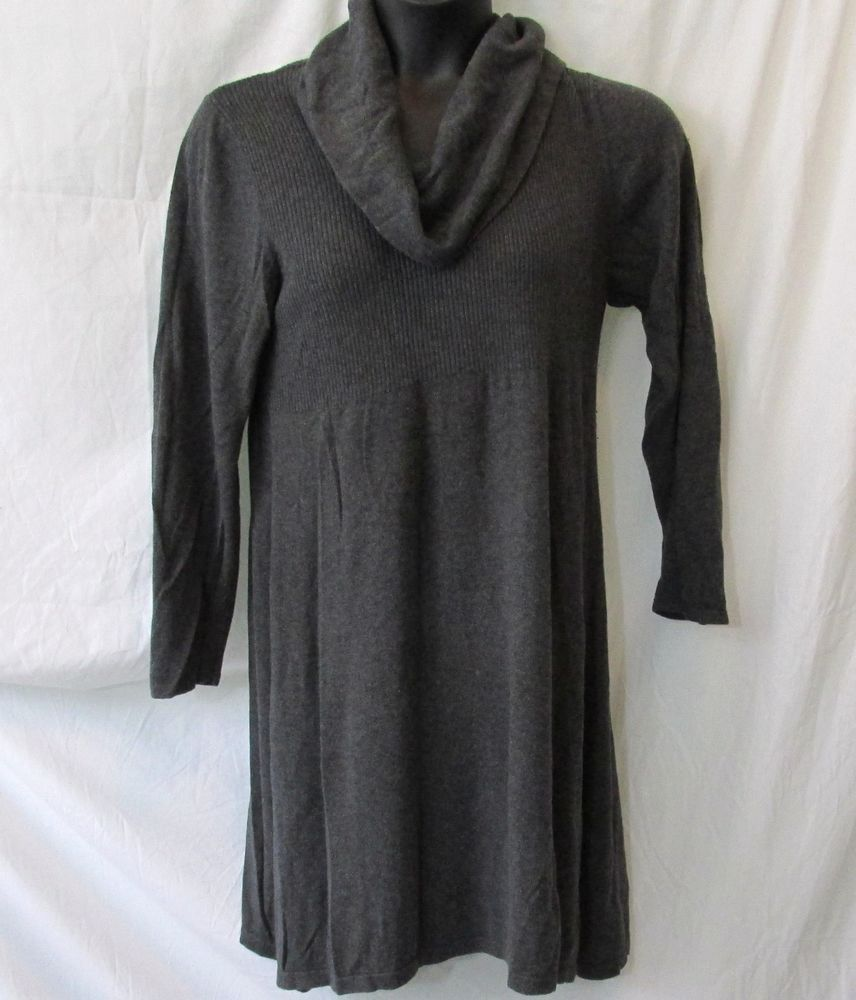7676f717d23 Style   Co Gray Cowl Neck Sweater Dress 1x Plus Size  Styleco  CowlNeck