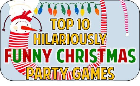 Hilarious Christmas party game ideas to add some fun and festivity