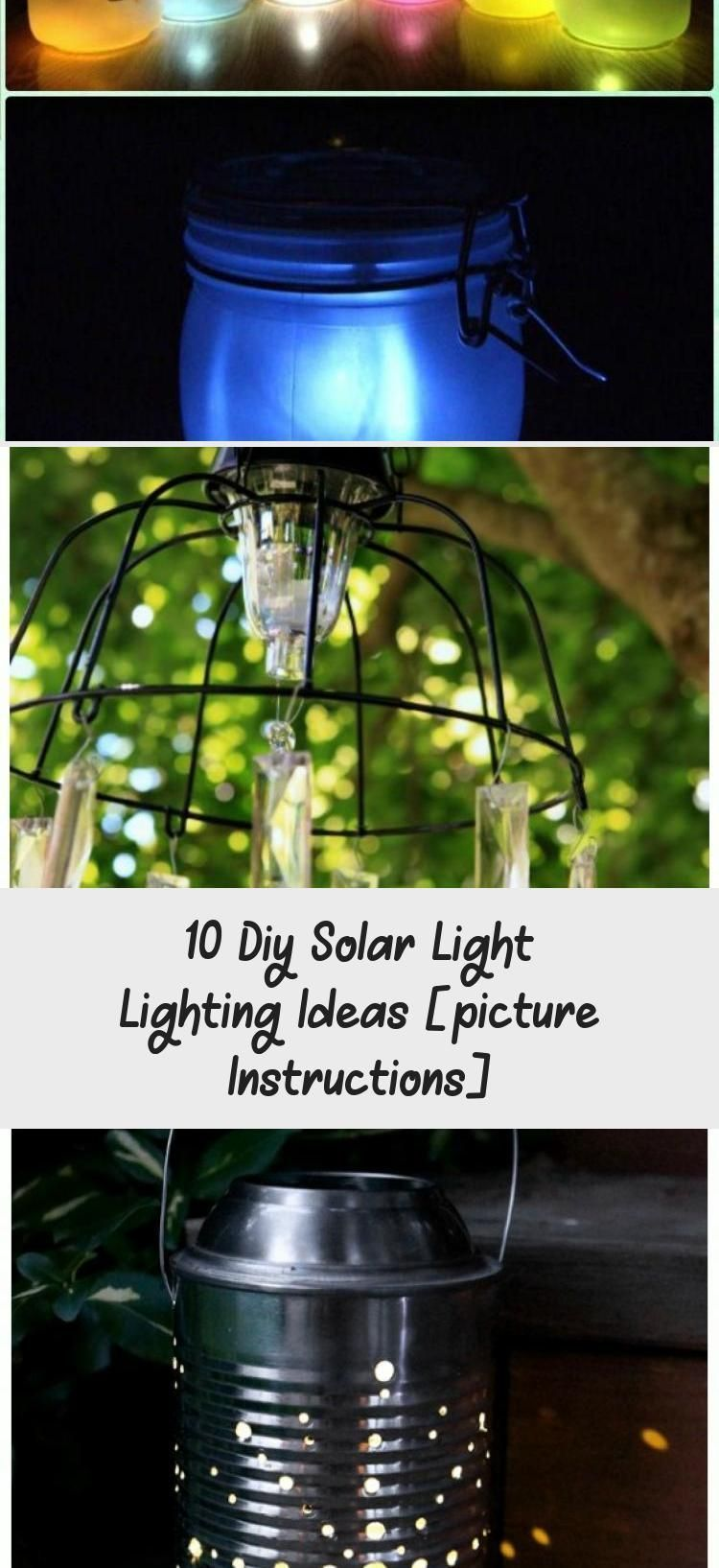 Photo of 10 Diy Solar Light Lighting Ideas [picture Instructions]  Home Decor   DIY Ced #…