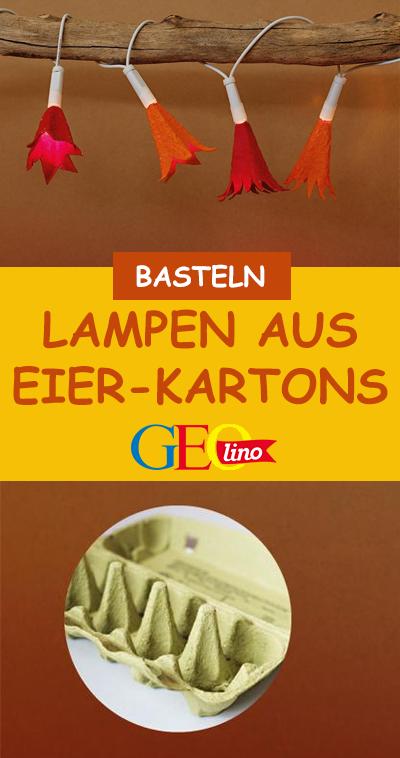 Photo of Lichterkette aus Eierkartons