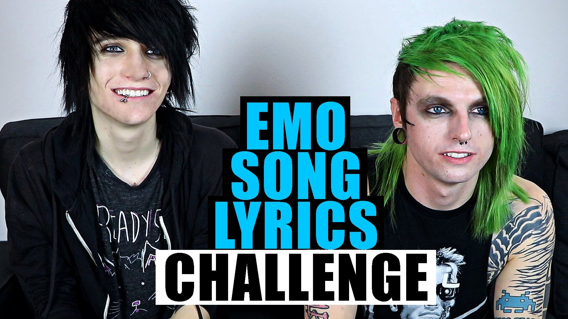 Emo song lyrics challenge feat johnnie guilbert my digital escape
