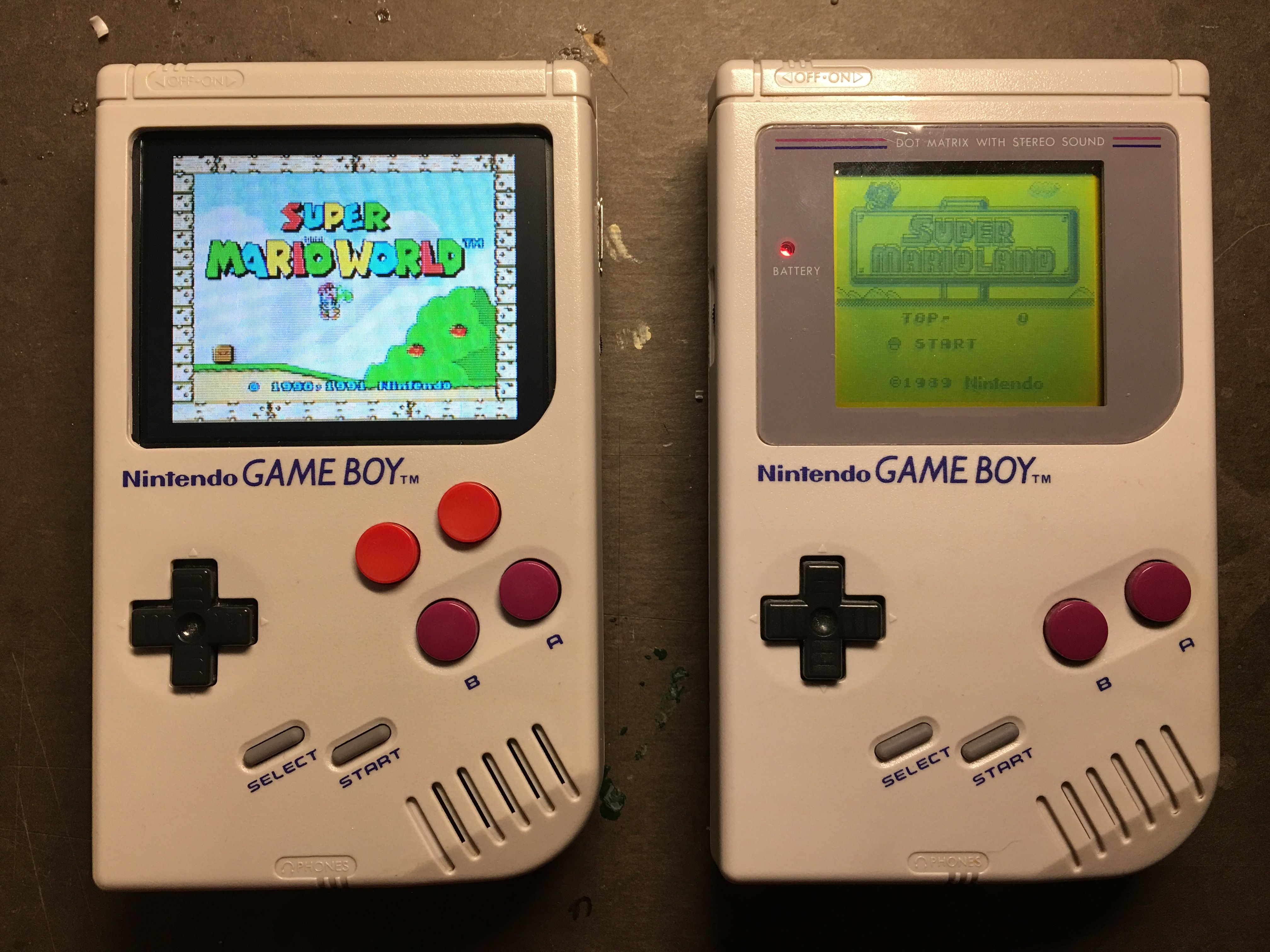 Gameboy color and advance rpg games - By Replacing The Guts Of A Game Boy With A Raspberry Pi Zero Processor And Some