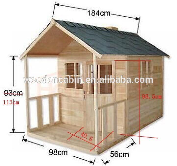 Resultado de imagen para casas de madera para niños precios | Domki ...