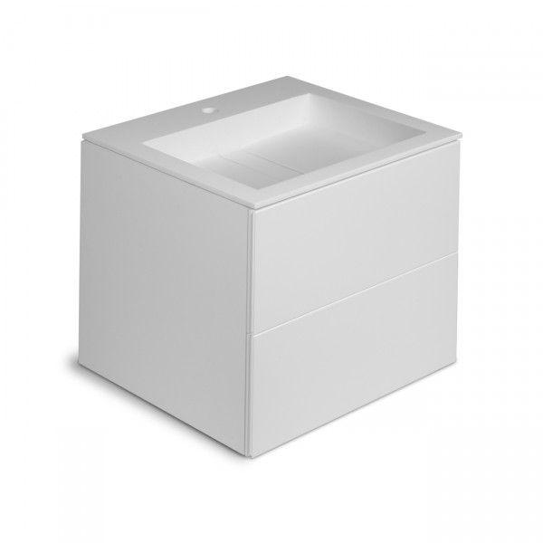 Cosmic - block bathstone Lavabo meubel | Badkamer | Pinterest