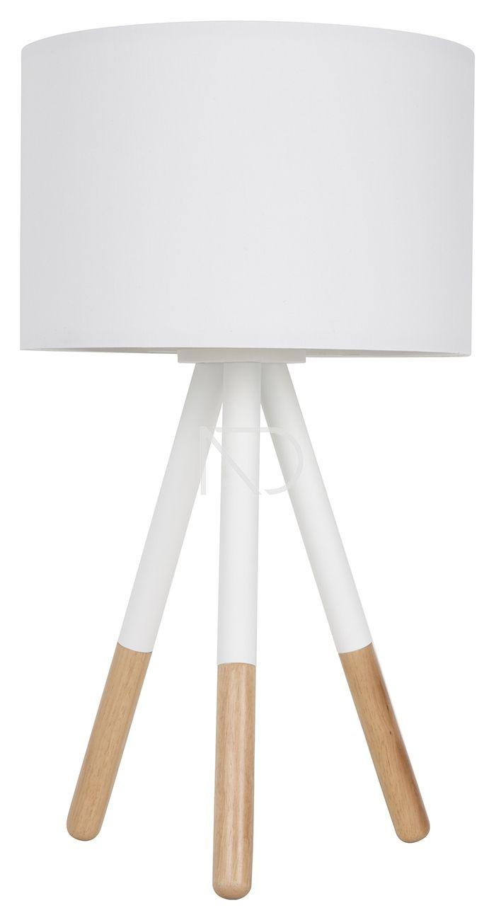 Lampa Stolowa Highland Biala Zuiver Lamp Desk Lamp Tripod Lamp