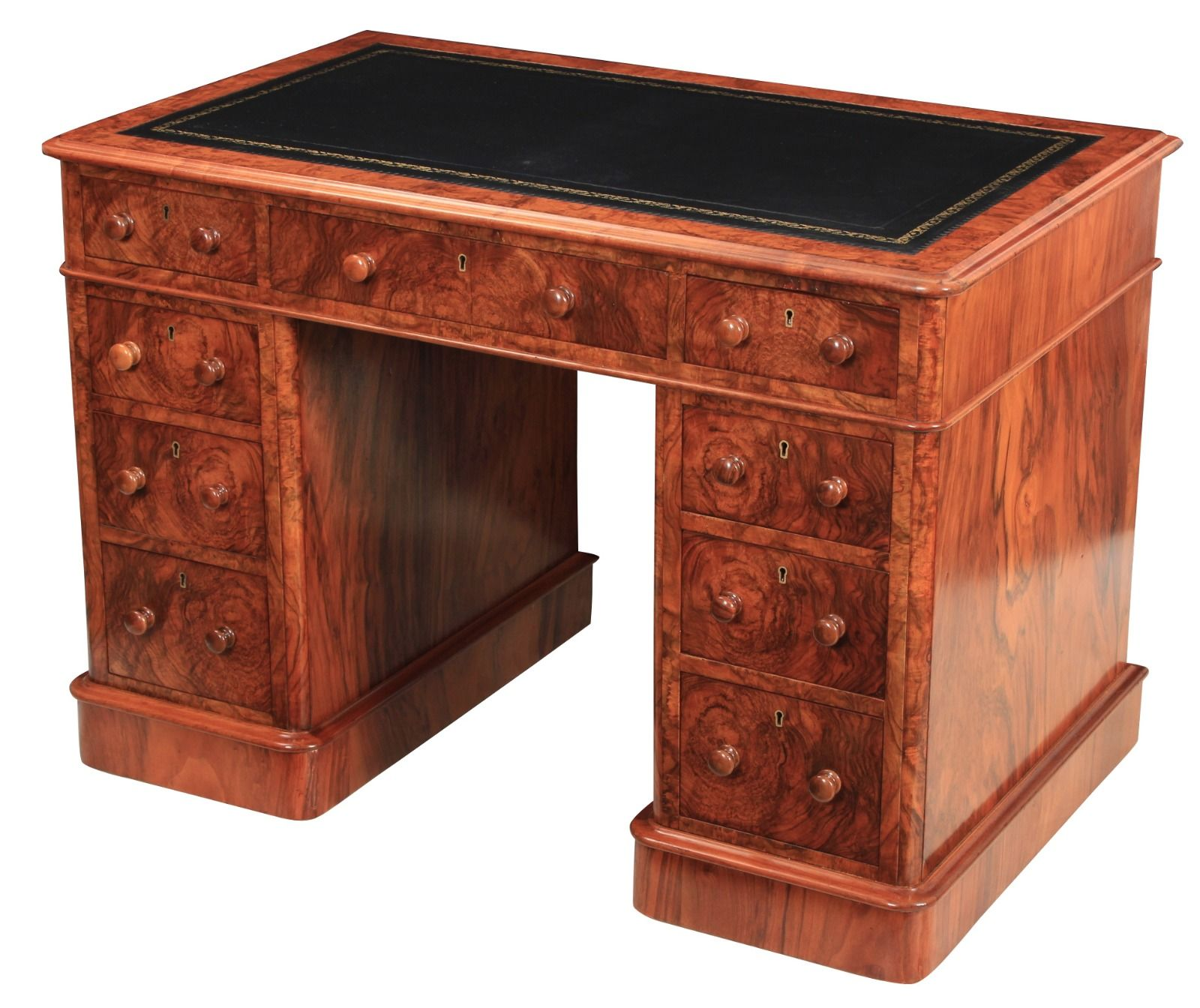 attractive desks desk mahogany white antique interesting drawers office computer for elegant with design furniture your decoration