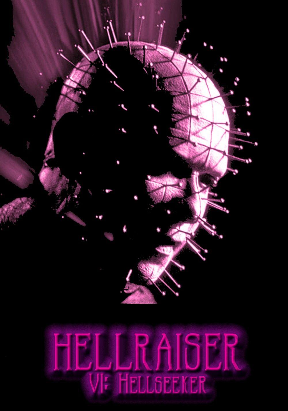 Hellraiser 6 Hellseeker 2002 Hellraiser Neon Signs Horror Films