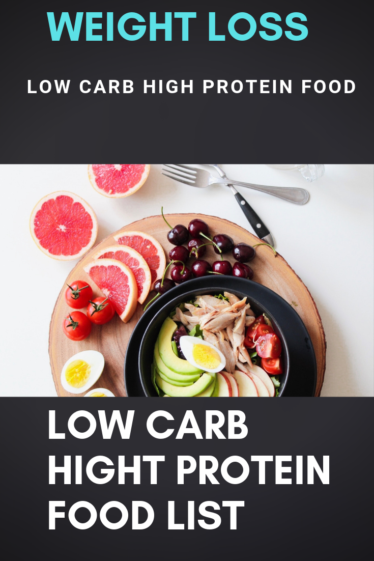 Low Carb High Protein Food