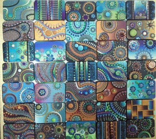 Polymer Mosaics Clay My Mosaic