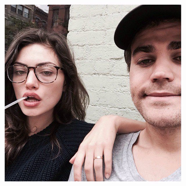Pin for Later: 14 Times Paul Wesley and Phoebe Tonkin Were Too Cute For Instagram When They Celebrated National Best Friends Day