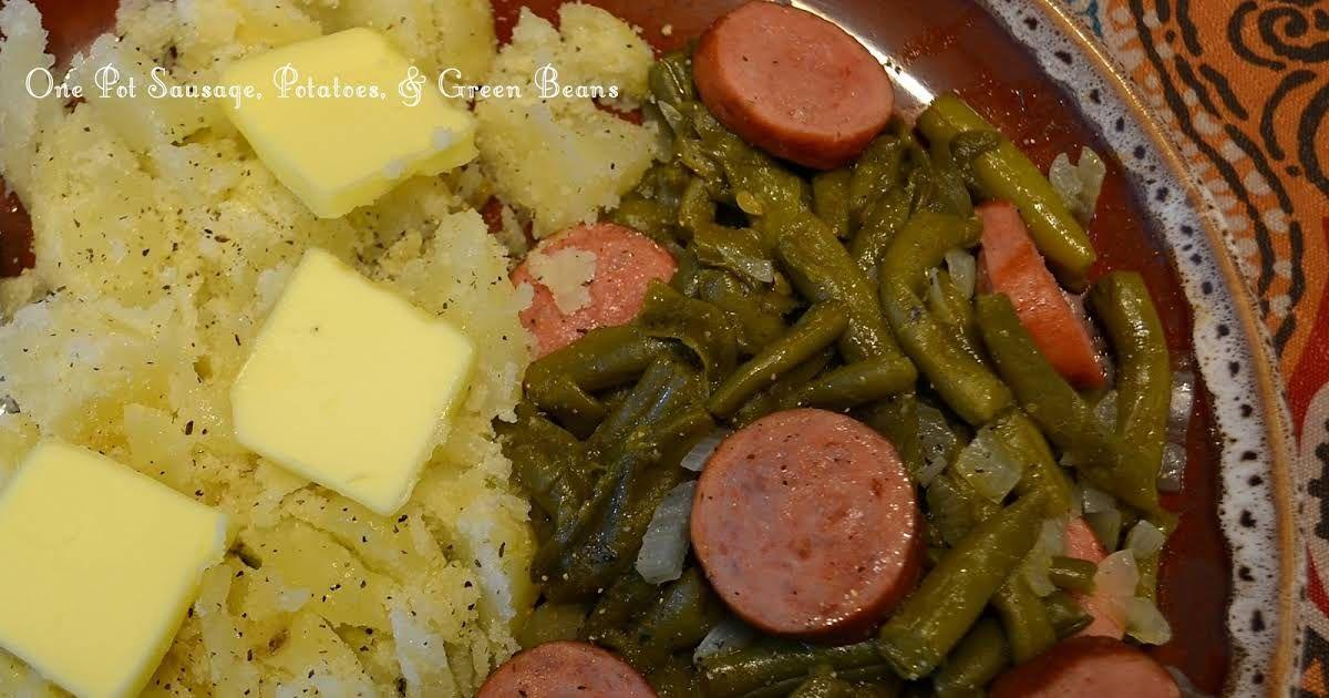 One pot smoked sausage potatoes green beans recipe