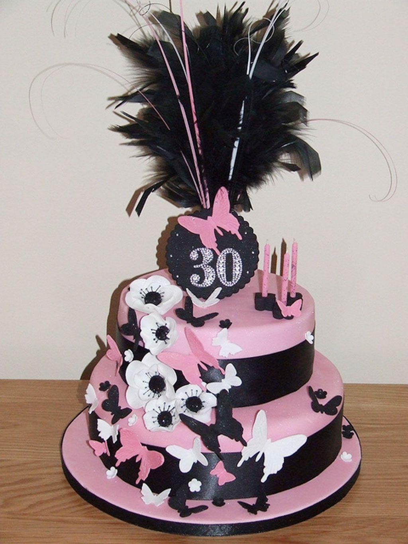 Naughty Woman Birthday Cake
