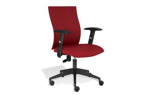 Kaja Office Chair In Red By Jesper Office Modern Office Chair Orange Office Chairs Red Office Chair