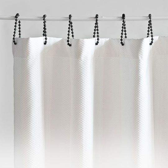 Where Can I Find These Black Roller Shower Curtain Rings Diy Shower Curtain Shower Curtain Rings Black Shower Curtains