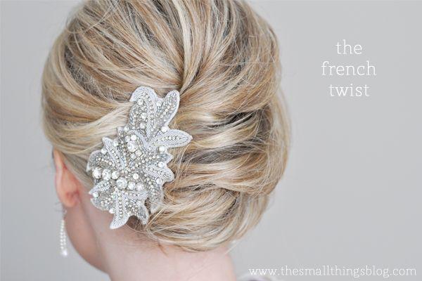 Fine 1000 Images About French Twist Hair Tutorials On Pinterest Short Hairstyles Gunalazisus