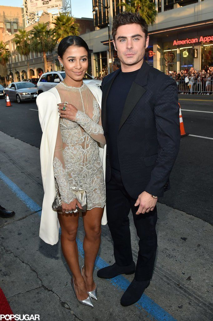 Zac Efron Shares a Sweet Moment With Girlfriend Sami Miró