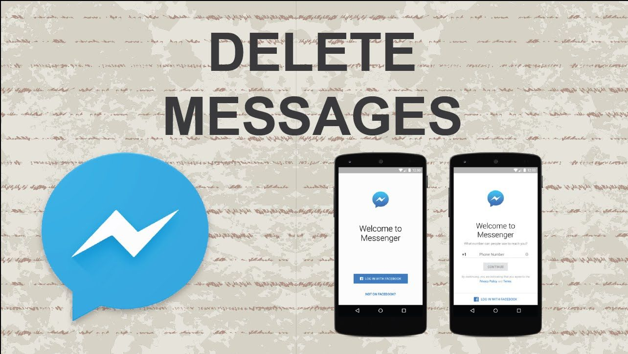 How to delete messages on facebook messenger mobile app video how to delete messages on facebook messenger mobile app video youtube tutorial ccuart Gallery