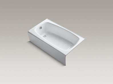 Kohler K 745 0 Seaforth 54 Quot X 31 Quot Alcove Bath With