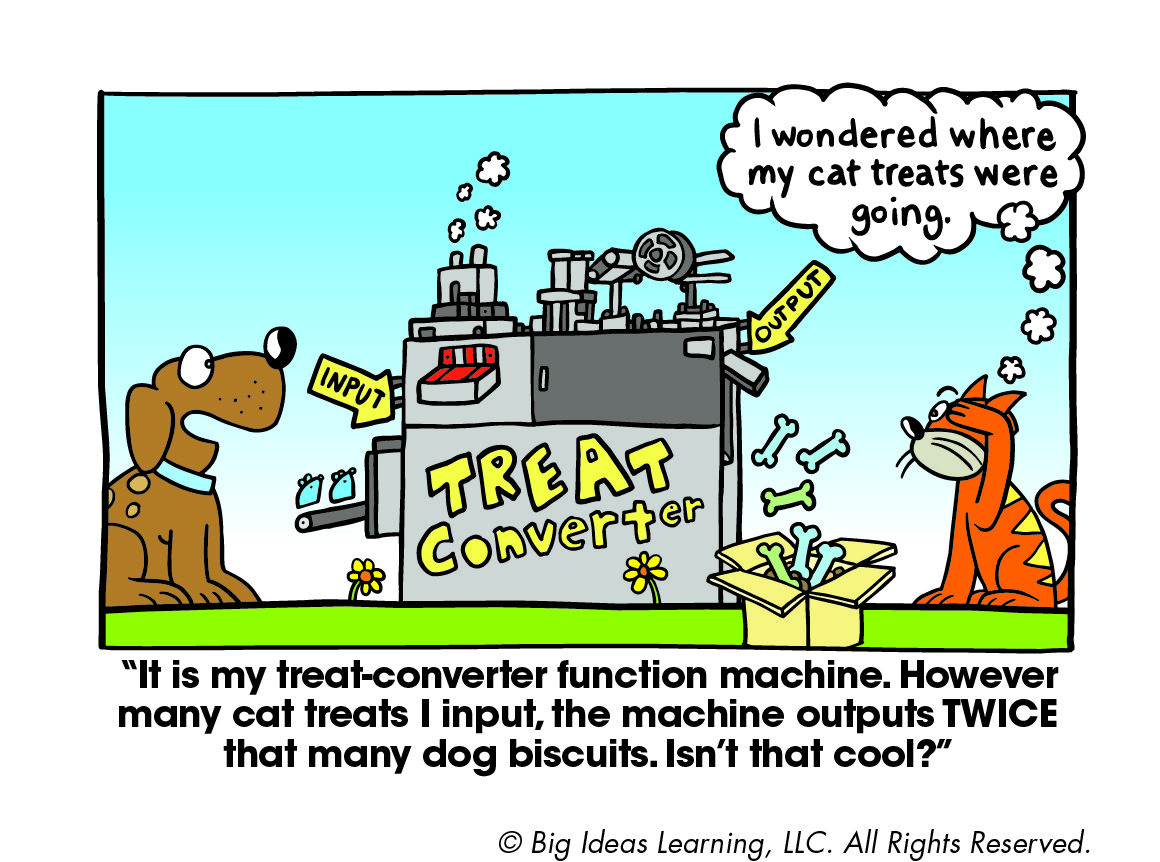 Functions Big Ideas Math Big Ideas Learning Math Cartoons [ 862 x 1160 Pixel ]