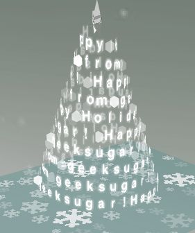 How To Create A Virtual Xmas Tree E Card Alternative Christmas Tree Christmas Tree Alternative Christmas