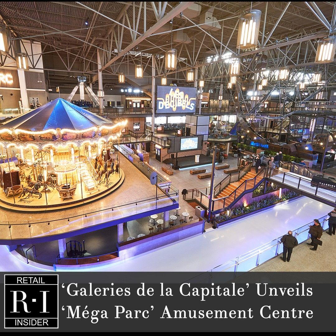 Galeries De La Capitale Unveils Overhauled Mega Parc Amusement Centre Photos Video Quebec S Largest Shopping Centre Has Re Opened The Largest Indoor Amuse I 2020