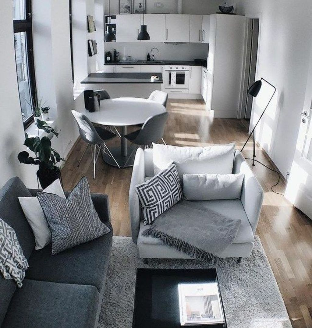 Cool 48 Best Romantic Apartment Decor Ideas Apartment Decor Inspiration Small Apartment Living Room Fresh Living Room