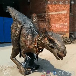 & Lifelike Animatronic Dinosaur Costume In Festival Parade Event-DCTR633
