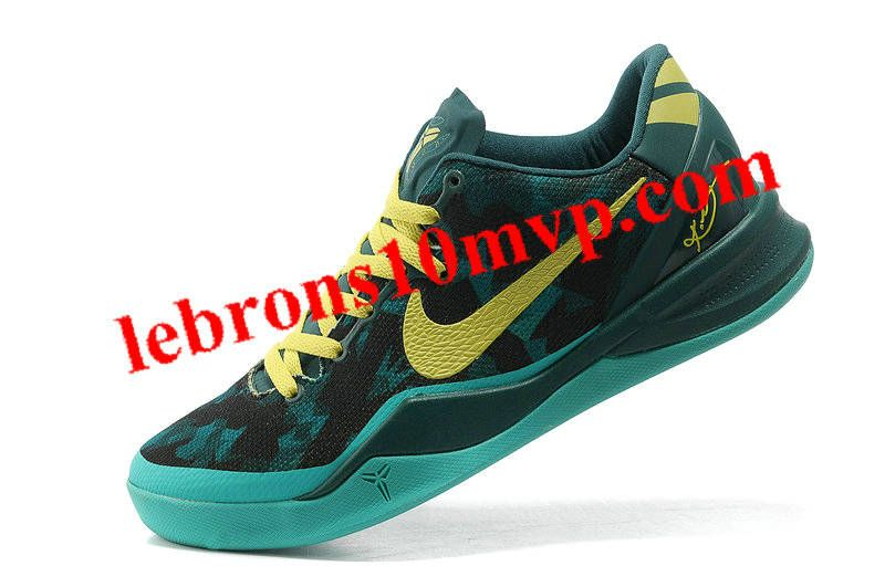 573f14672800 Kobe 8 System Sport Turquoise Atomic Teal Electric Yellow