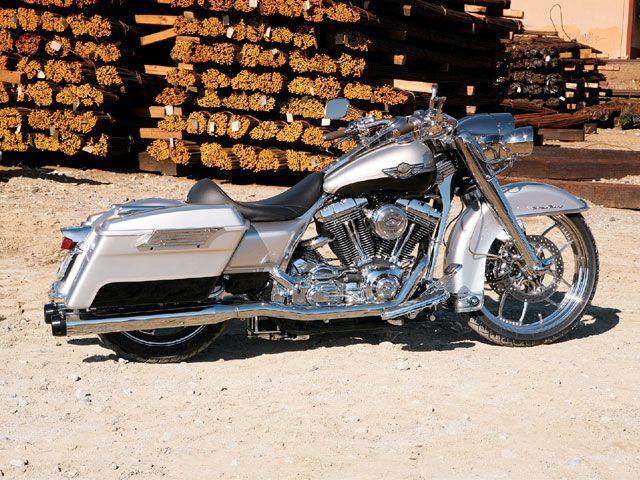 2003 Road King Custom Hot Bike Baggers Magazine Dream