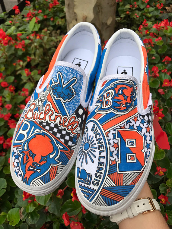 4ee627985e6 Bucknell University Custom Sneakers