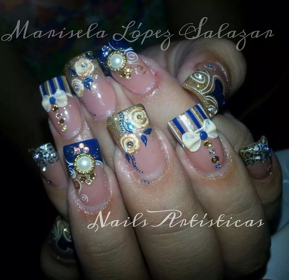 Marisela lopez fantasy nails   nails   Pinterest