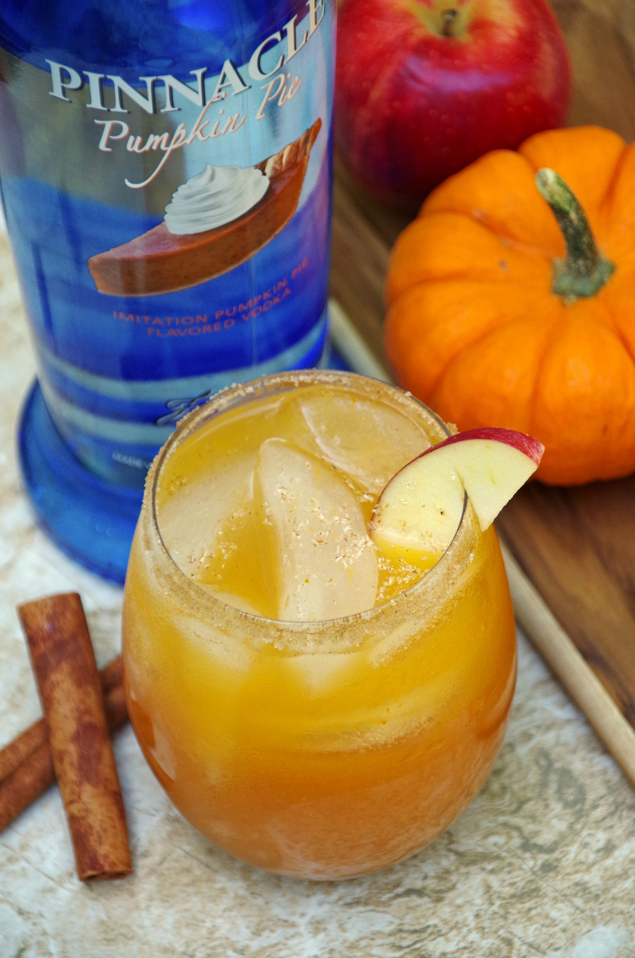 Photo of Pumpkin and Apple Cider Cocktail Recipe