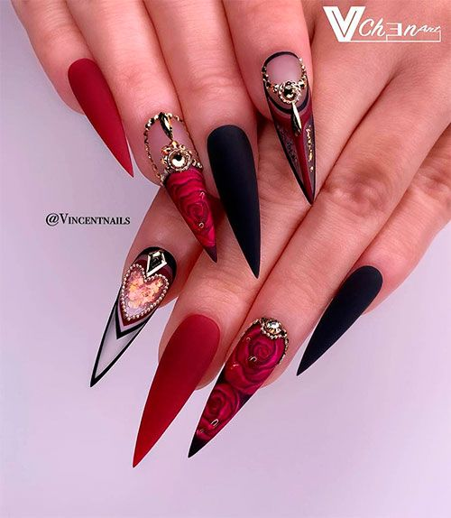 The Best Valentine's Day Nails Right Now! | Stylis