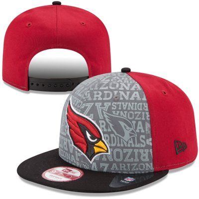 4db4bb4792fbe2 Mens New Era Cardinal Arizona Cardinals 2014 NFL Draft 9FIFTY Snapback Hat