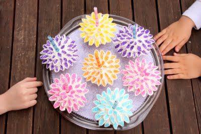 Little Spatula: Flower Cupcakes - Fun in the Kitchen