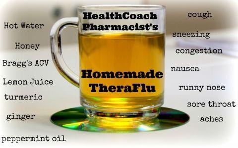 Homemade Theraflu Health Coach Pharmacist Make Your Own Cold