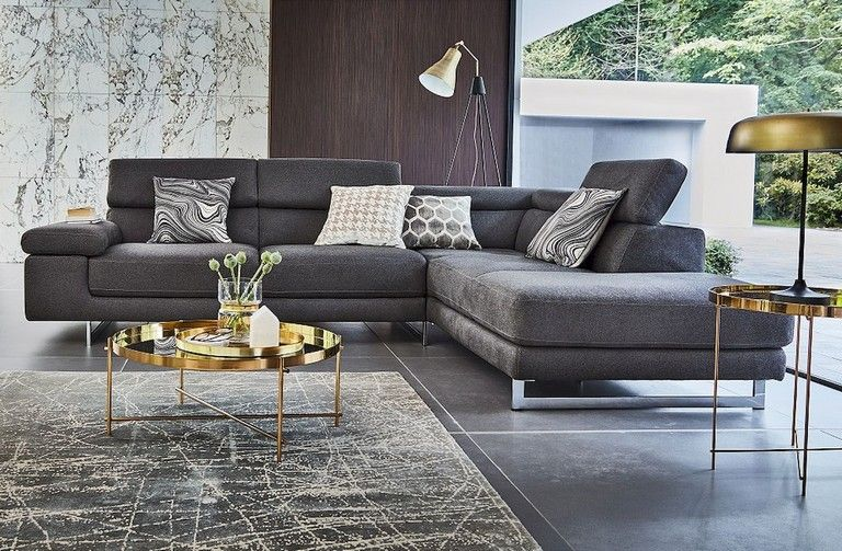 65 Pretty And Comfort Modern Corner Sofa For Living Room Corner