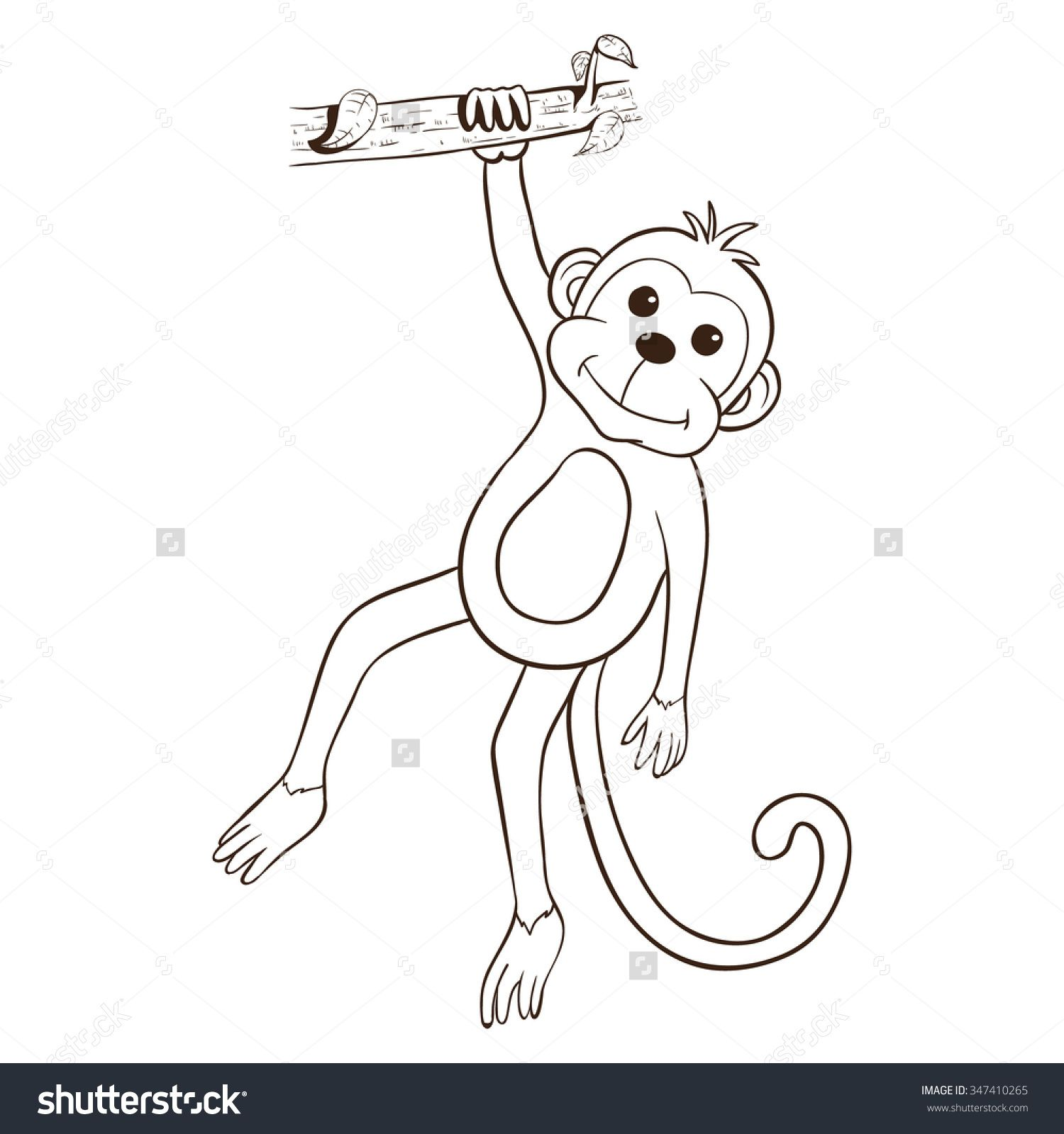 Hanging Monkey ...
