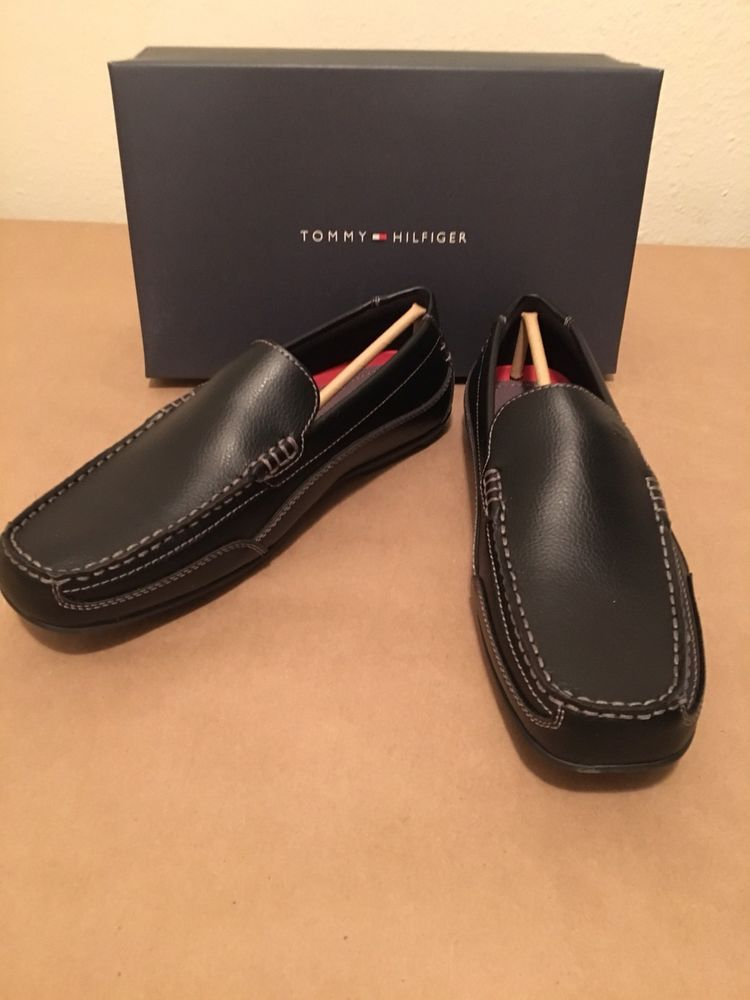 9ca868eaa81e6f Tommy Hilfiger Dathan Size 8.5 M Men s Casual Driver Loafer Shoes NEW   TommyHilfiger  DrivingMoccasins