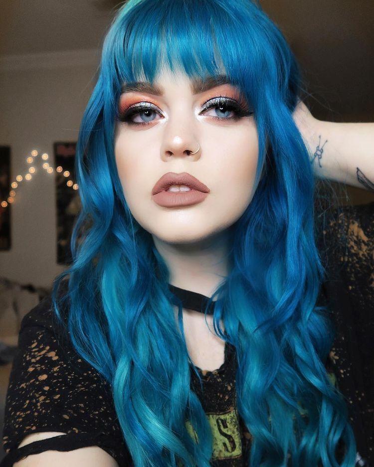 Blue Hair Color Limecrime Unicorn Hair Ashkmakeup Mermaid Hair