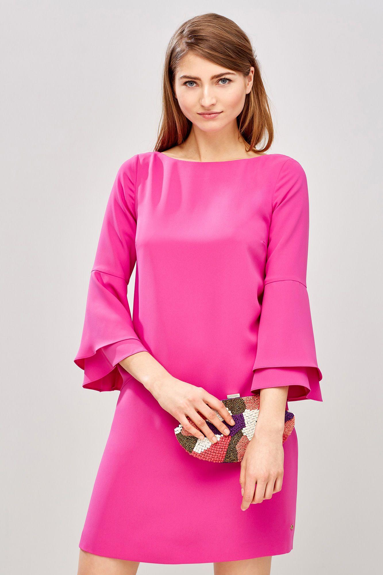 Pedro del Hierro Vestido túnica Rosa | Ropa | Pinterest | Túnicas ...