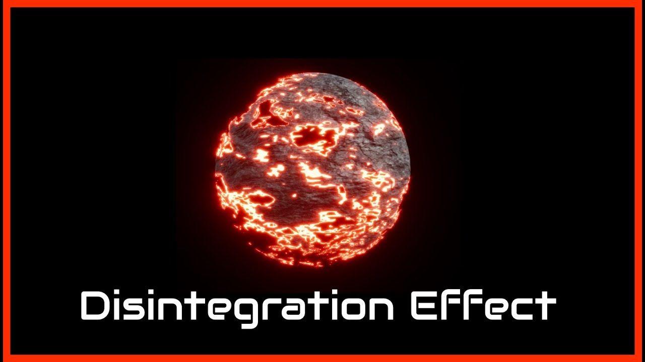 Disintegration Effect- UE4 Material Function Tutorial