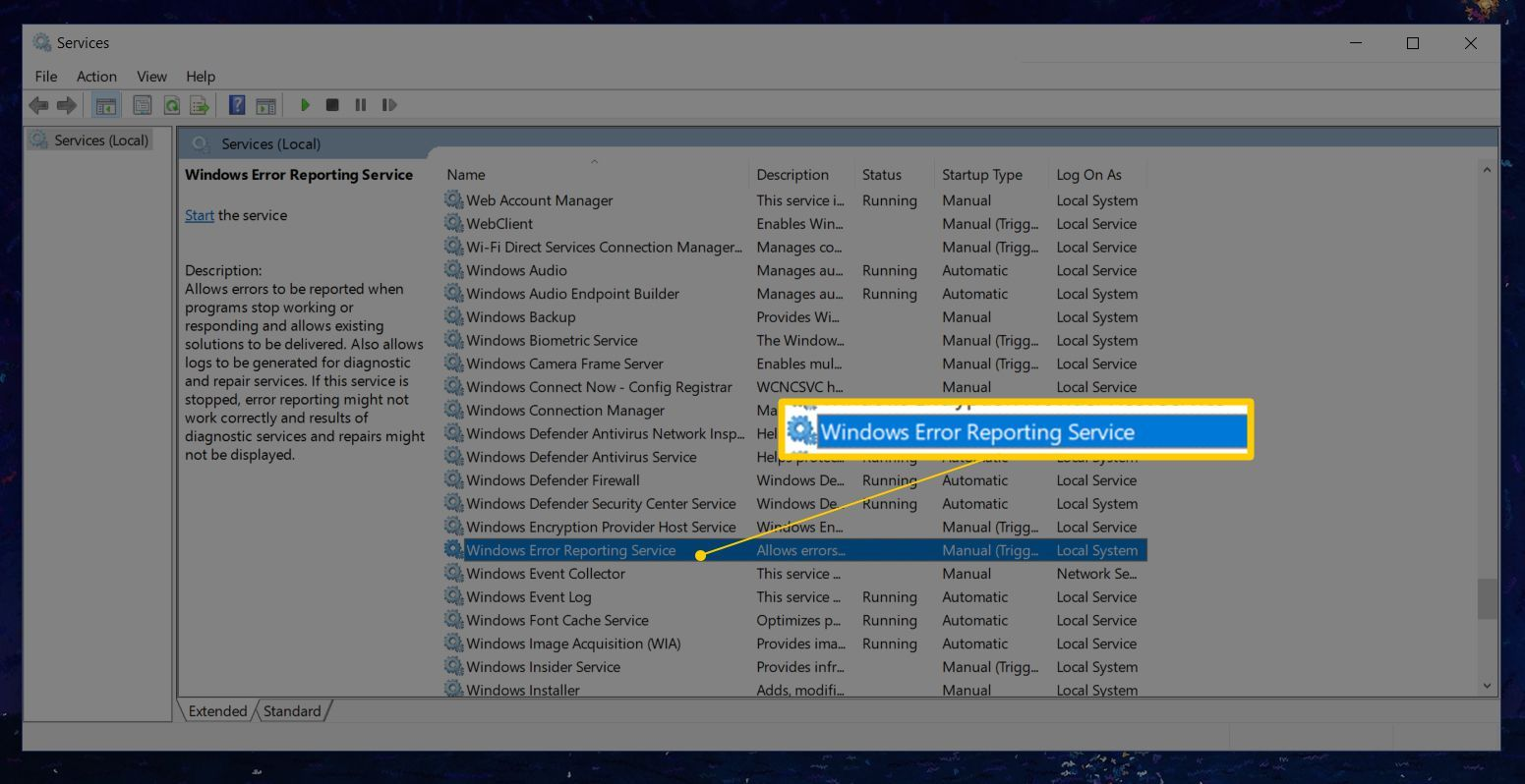 Learn How To Turn Off Error Reporting Feature In Windows Pc With