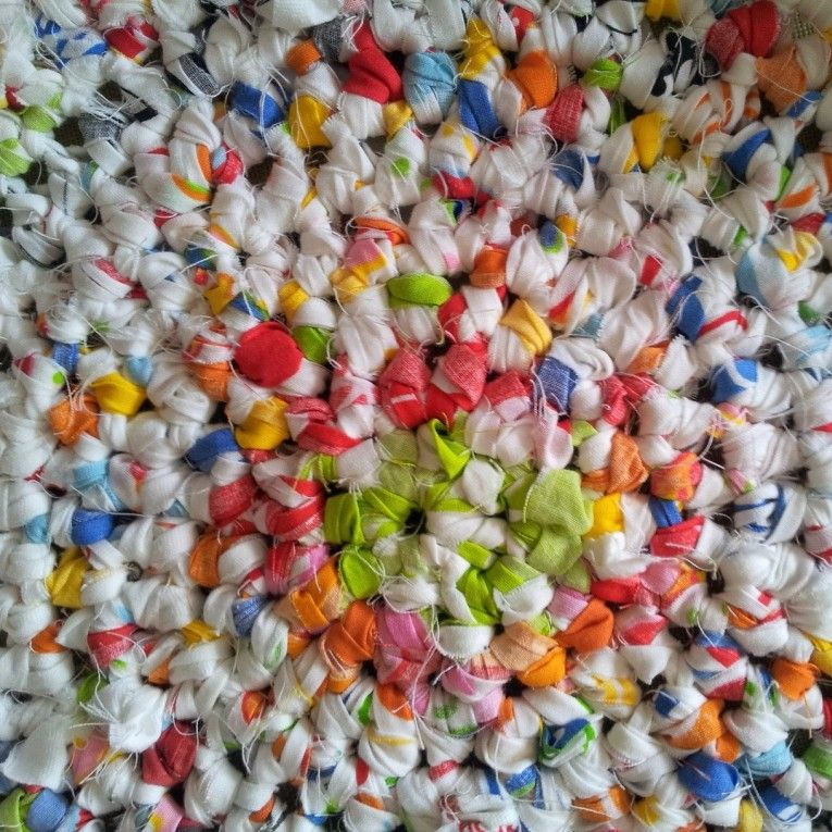 Youtube Toothbrush Rag Rug: Learn How To Crochet A Round Rag Rug By Look At What I