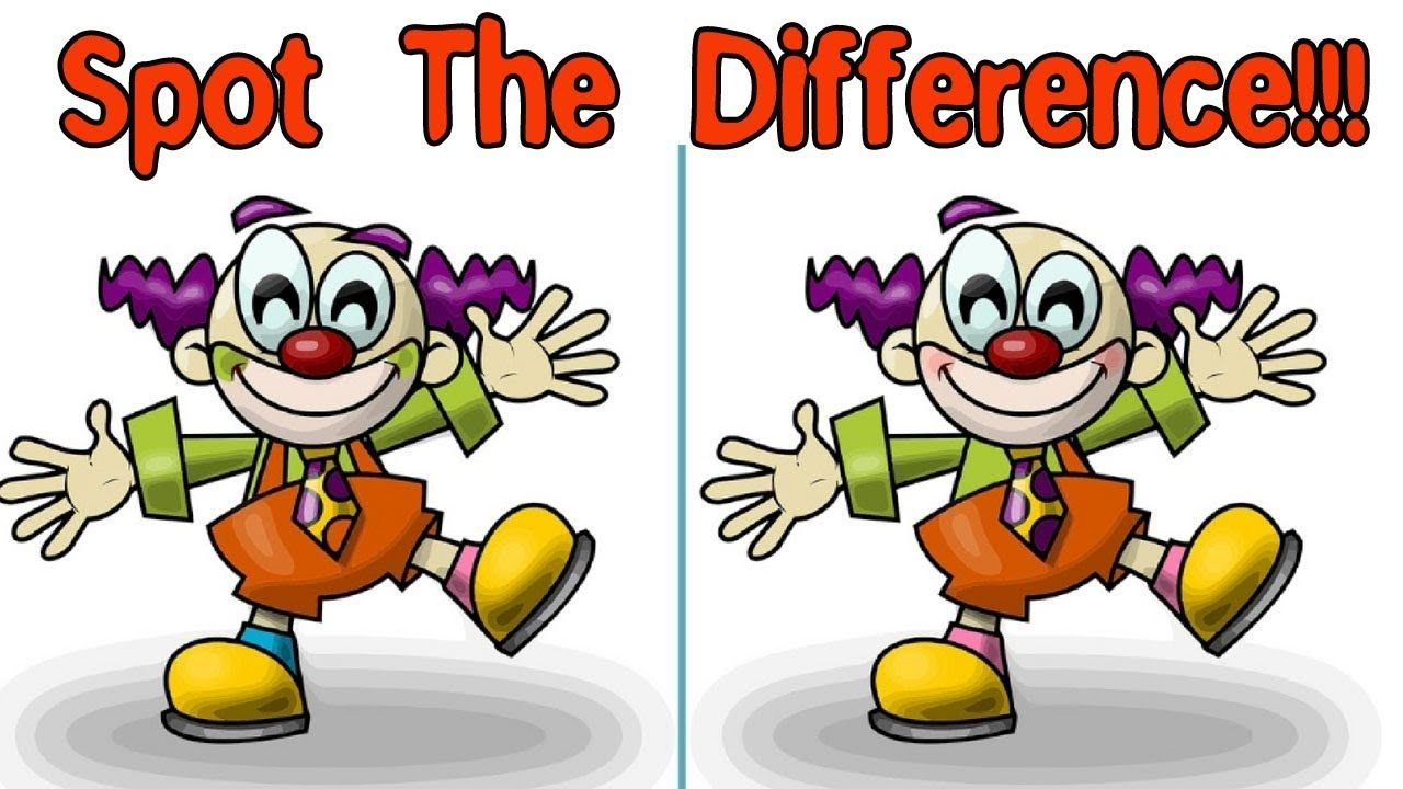 Spot The Difference 1 Spot the difference Brain Games