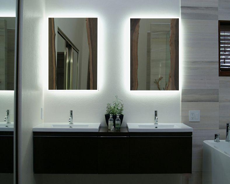 Led Badezimmerspiegel ~ Ikea hack ikea spiegel mit eigener led stripe installation ab