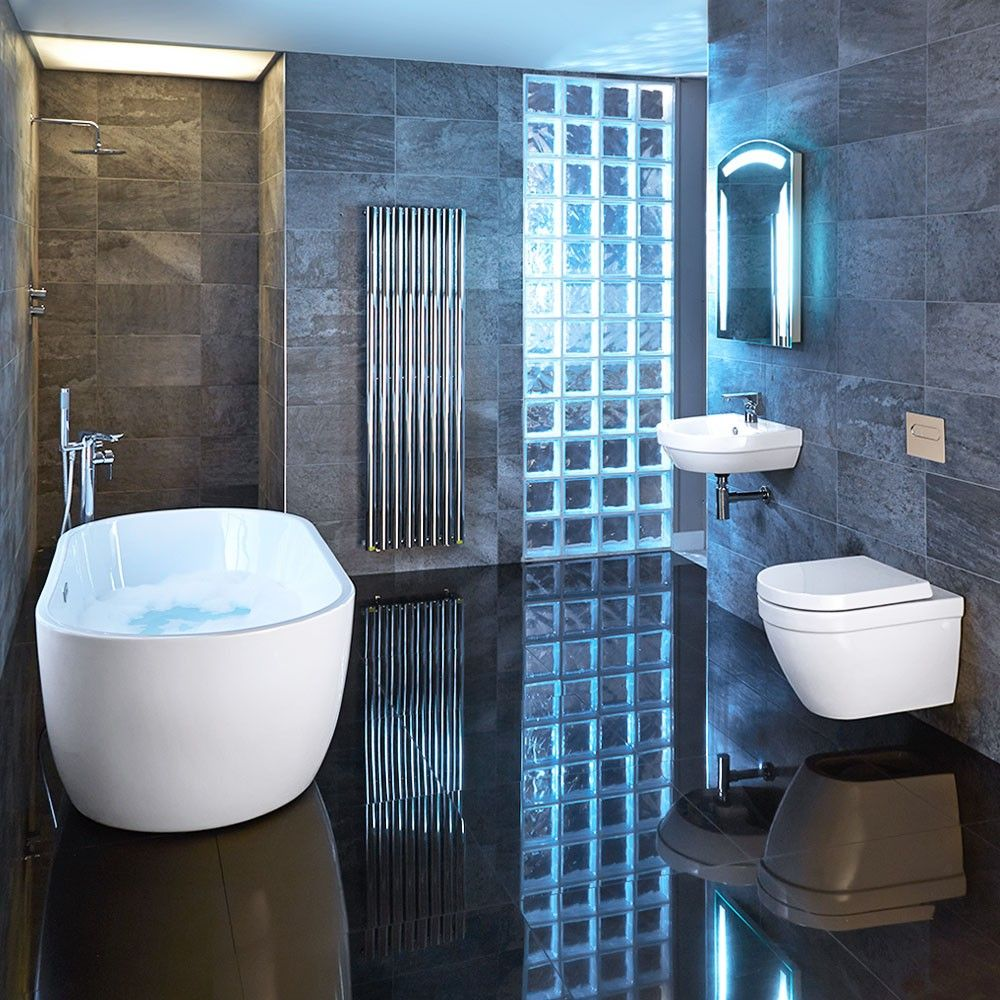 Apollo 54 Wall Hung Suite | Luxury Bathrooms | Pinterest | Walls ...
