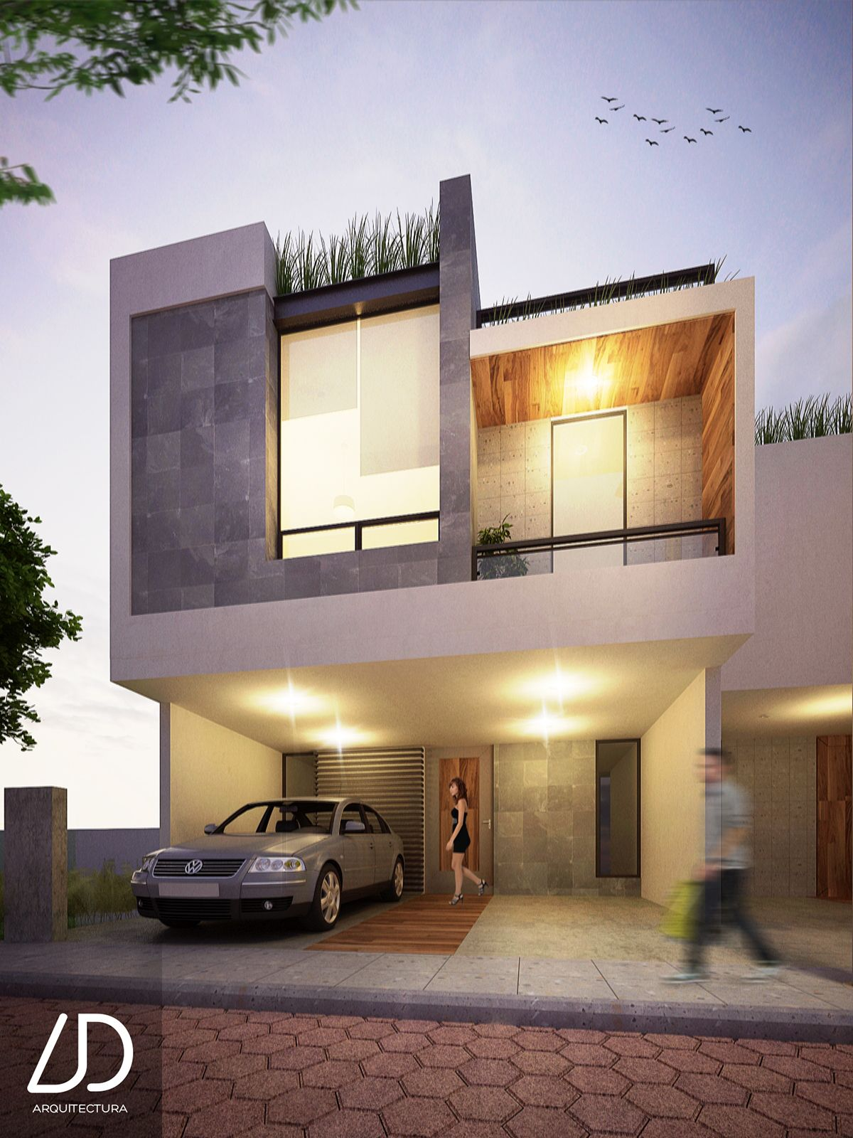 Small but intelligent house in a growth area in the city