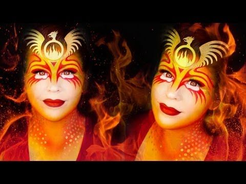 Makeup Tutorial Phoenix The Fire Bird 3 This Lady She Does Great